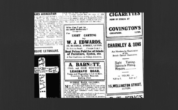 1919 Luton News - WJ Edwards