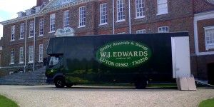 WJ Edwards removal vehicle